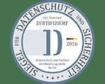 Datenschutz und Sicherheit Zertifiziert