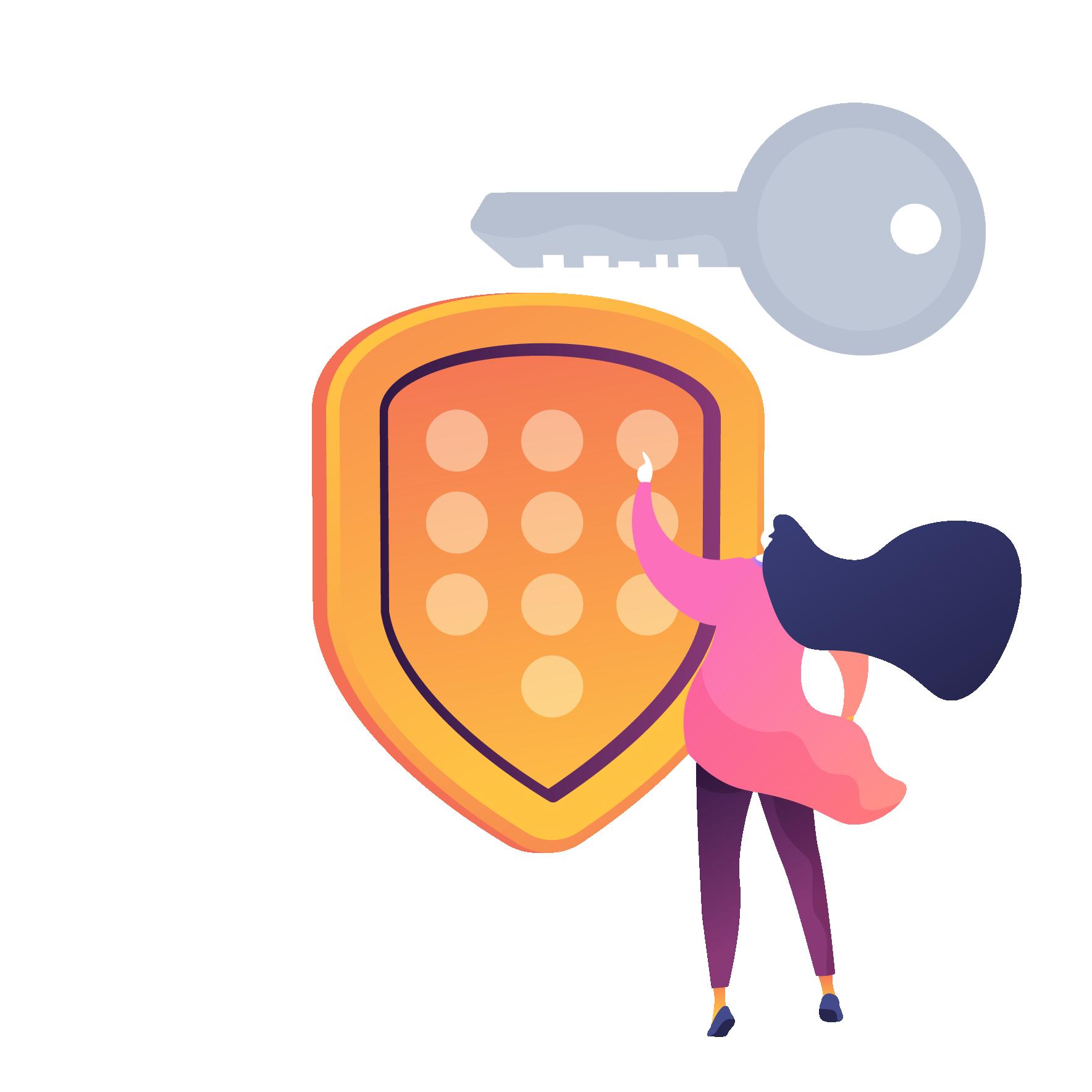 Passwortschutz im Internet und sich im Internet schützen