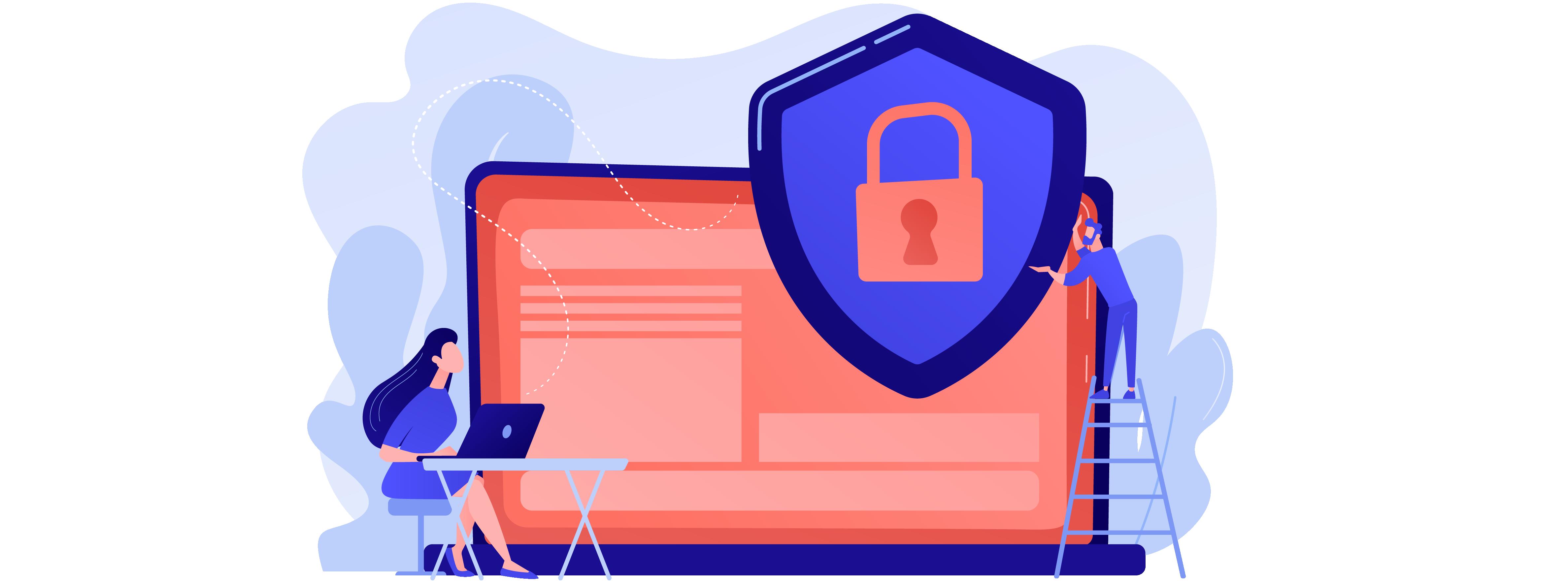 Schutz im Internet und sich im Internet schützen