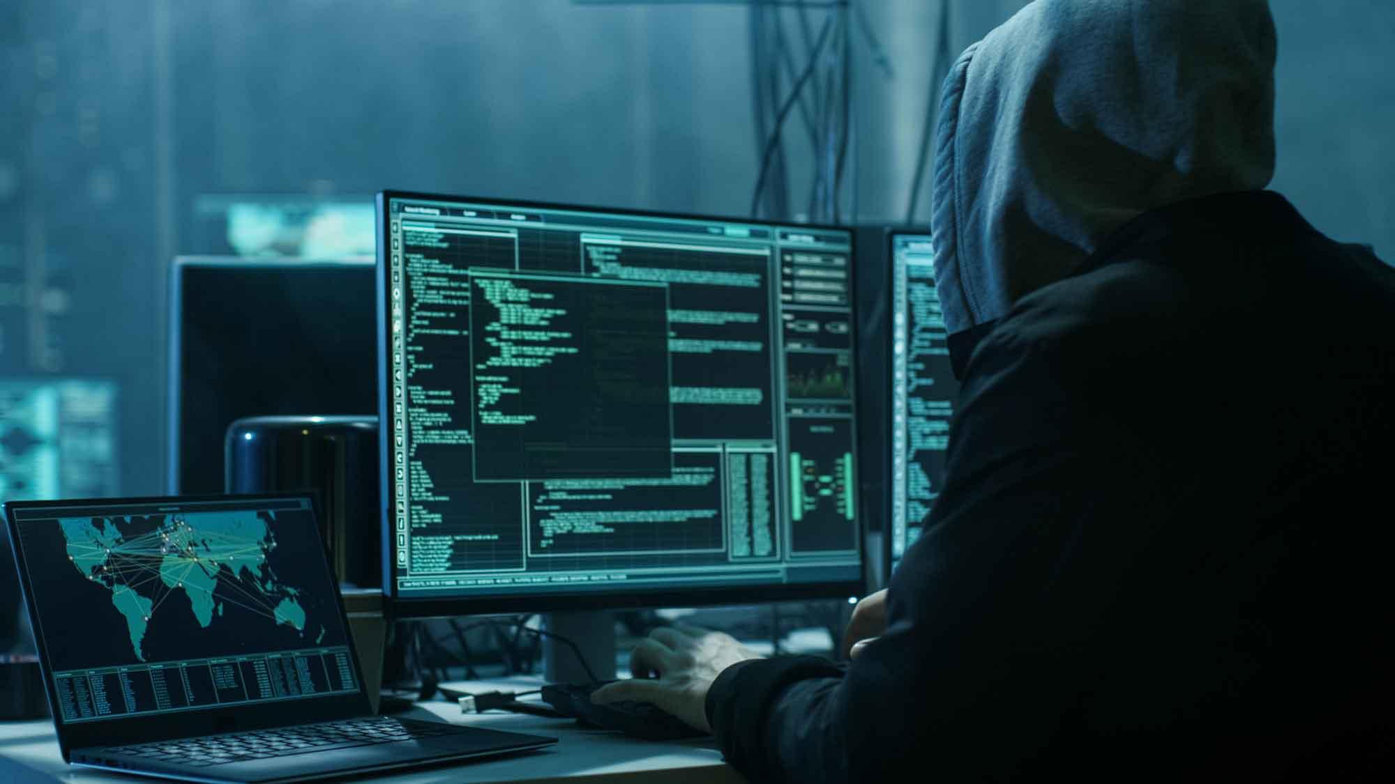 Hacking-Angriff